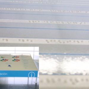 Textos del Directorio en Braille para HOSPITAL INFANTA SOFIA