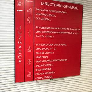 Directorio Recto Juzgados Palencia Edificio Plaza España