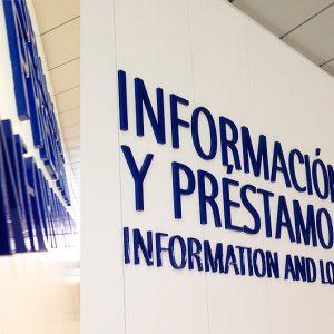 Letras de FMD Lacadas para Universidad Carlos III