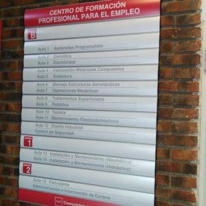 Diretorio Horizon para Centro de Formación de Madrid