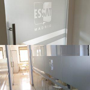 Vinilo Ácido/Esmerilado para ESSAT
