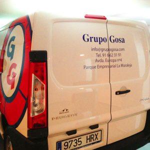 Vinilo Impreso Laminado para Grupo Gosa