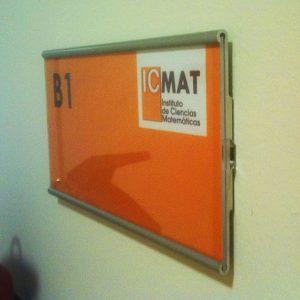 Señal de Interior Marino para ICMAT