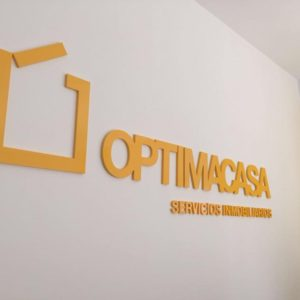 LETRAS FMD LACADO para OPTIMACASA