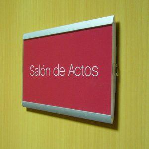 Señal de Interior Pierrot para Juzgados de León