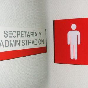 Señal de Interior Recto para Consejería Bienestar Social RESIDENCIA SAN BLAS