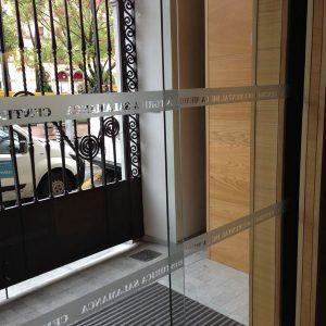 Vinilo Ácido/Esmerilado para Centro Histórico de Salamanca